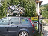 Cyklostezka Bečva 150m od domu - Karolinka