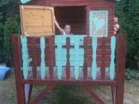 Dětský zahradní domeček