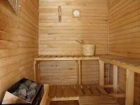 Sauna - chalupa k pronajmutí Hutisko-Solanec