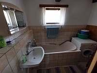 Koupelna - chata ubytování Frenštát pod Radhoštěm