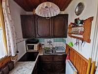 Kuchyň - chata k pronájmu Frenštát pod Radhoštěm