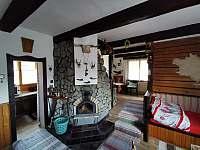 Společenská místnost - chata ubytování Frenštát pod Radhoštěm