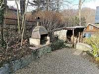 Venkovní posezení - chata ubytování Frenštát pod Radhoštěm