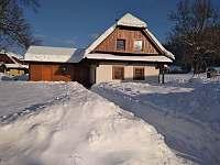Zimí foto 2019 - chalupa k pronajmutí Velké Karlovice