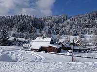 chalupa Vilma zima - k pronajmutí Velké Karlovice