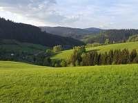 vyhlídka - pronájem chalupy Velké Karlovice