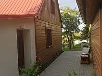 vchod do chaty - ubytování Veřovice