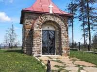 Muřínkův vrch kaple - Dolní Lomná