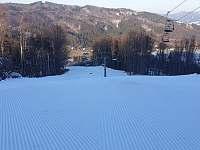 Ski armáda 300m od chalupy 15.2.2020 - Dolní Lomná