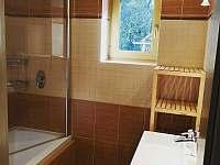 Chata Na vyhlídce- koupelna