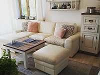 Chata na vyhlídce- obývací pokoj