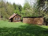 Zahradní chatka na nářadí