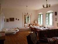 50m2 pokoj - chalupa ubytování Podsedice