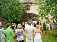 První svatba na statku - červen 2009 - pronájem chalupy Podsedice