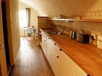 Apartmán III - kuchyň - k pronajmutí Terezín