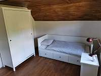 II. ložnice - pronájem chalupy Liběšice - Horní Chobolice