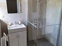 Koupelna - chalupa k pronájmu Liběšice - Horní Chobolice