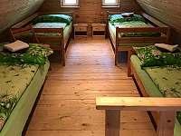 Ložnice v mezonetu, horní část pro 4 osoby