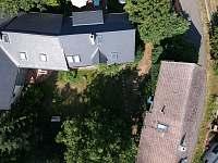 Pohled z dronu - Velemín - Milešov