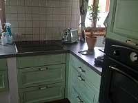 kuchyňský kout - chalupa k pronajmutí Stvolínky - Kolné