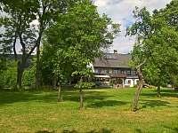Zahrada - chalupa ubytování Stvolínky - Kolné