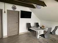 Společenská místnost 2 - pronájem apartmánu Nechranice