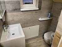 Toaleta 2 - apartmán k pronájmu Nechranice