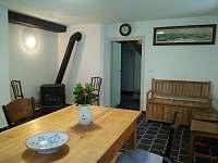 společenská místnost - pronájem chalupy Merboltice