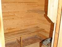 Sauna v přízemí