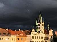 Pohled z náměstí Litoměřice -
