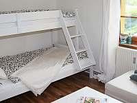Malá ložnice - pronájem apartmánu Velemín - Oparno