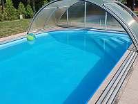 Bazén - pronájem chalupy Nečemice
