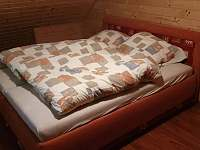 Druhá ložnice - chalupa ubytování Nečemice