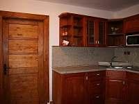apartmán v přízemí-kuchyňka