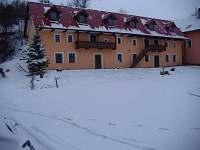 ubytování je pěkné i v zimě
