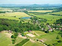 NORD RANČ - celkový pohled na ranč, obec Bohatice a okolí