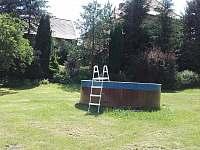 bazén s pískovou filtrací o průměru 3,6m