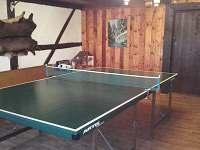 místnost na stolní tenis
