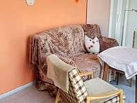 pohled z kuchyňky - apartmán k pronájmu Chotěšov pod Házmburkem