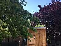 venkovní sauna - chalupa ubytování Ústí nad Labem - Střekov