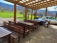 Česká Kamenice ubytování 18 lidí  pronájem