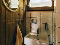 koupelna - chata k pronajmutí Kyjov u Krásné Lípy