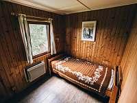 ložnice - chata k pronájmu Kyjov u Krásné Lípy