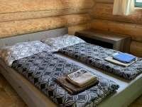 ložnice 1 - srub k pronajmutí Horní Podluží