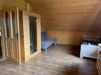 ložnice 2 - srub k pronájmu Horní Podluží
