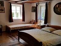 Apartmán - ložnice - pronájem chalupy Krásná Lípa