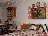Romantický pokoj - chalupa ubytování Krásná Lípa