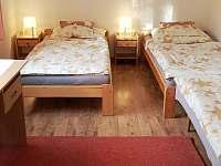 AP Přízemí ložnice 2 - apartmán k pronajmutí Staré Křečany