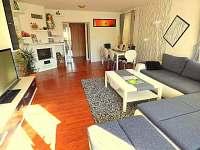 AP přízemí obývací pokoj - apartmán k pronajmutí Staré Křečany