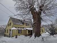 Kouzlo zimy a staré lípy - apartmán ubytování Staré Křečany
